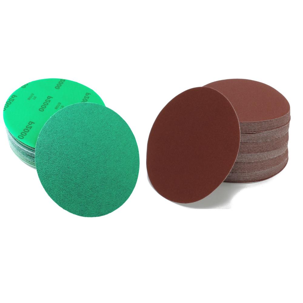 Woltersberger meules 150 mm Velcro meule ponceuse Papier Abrasif Disques