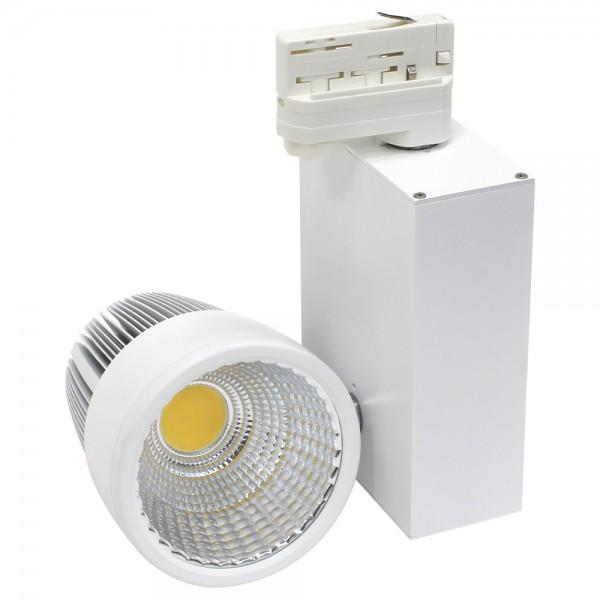 LED Stromschienenstrahler 20 Watt Weiß 4000K