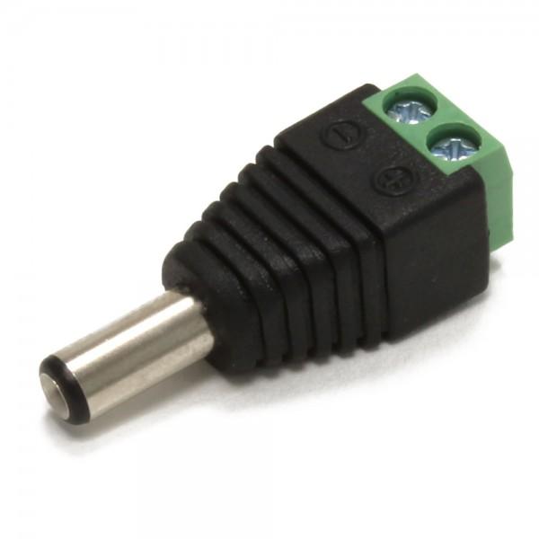 Anschlussadapter DC-Stecker - Schraubklemme
