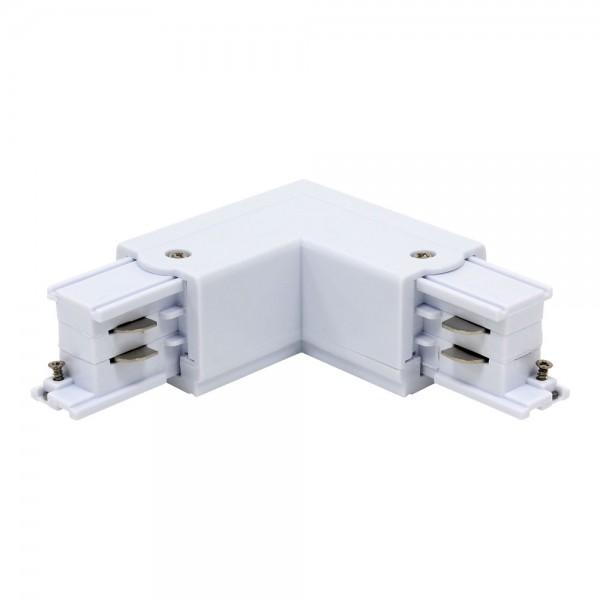 L-Verbinder für 3-Phasen HV Stromschiene weiß