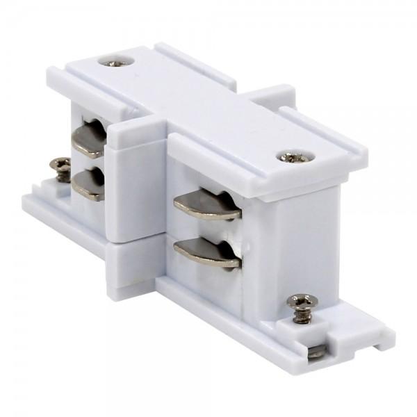 Längsverbinder für 3-Phasen HV Stromschiene weiß