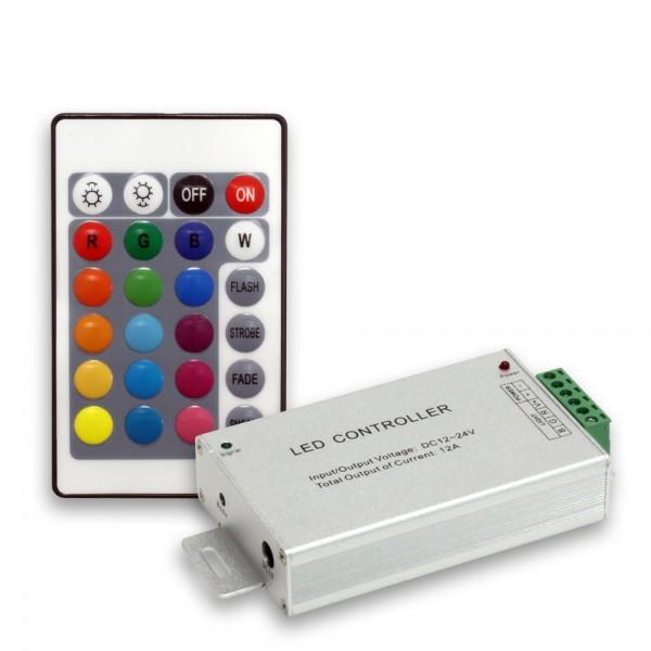 Controller 144W/12A mit 24 Tasten Fernbedienung