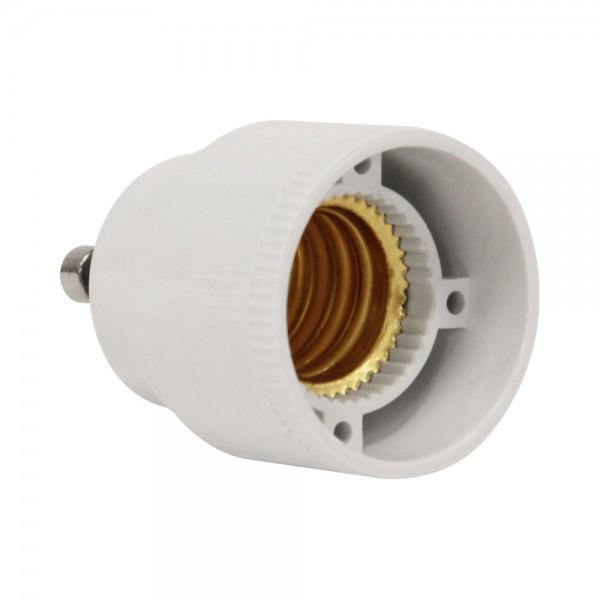 Sockel Adapter E14 auf GU10 Fassung