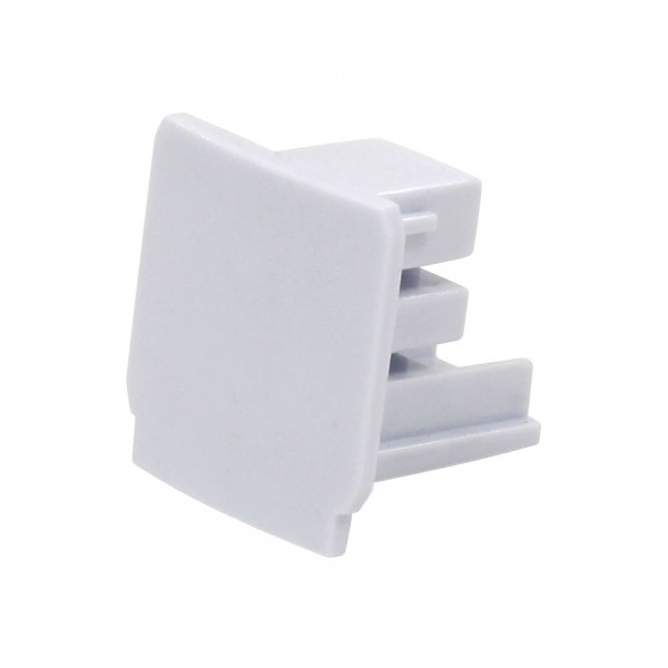 Endkappe für 3-Phasen HV Stromschiene weiß