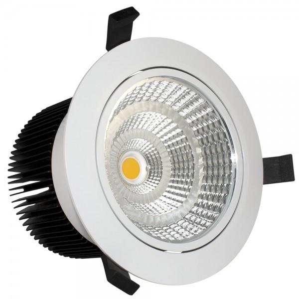 LED Einbaustrahler 10 Watt schwenkbar weiß 4000K